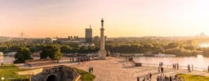 Kalemegdan Belgrad Serbien Park Serbia