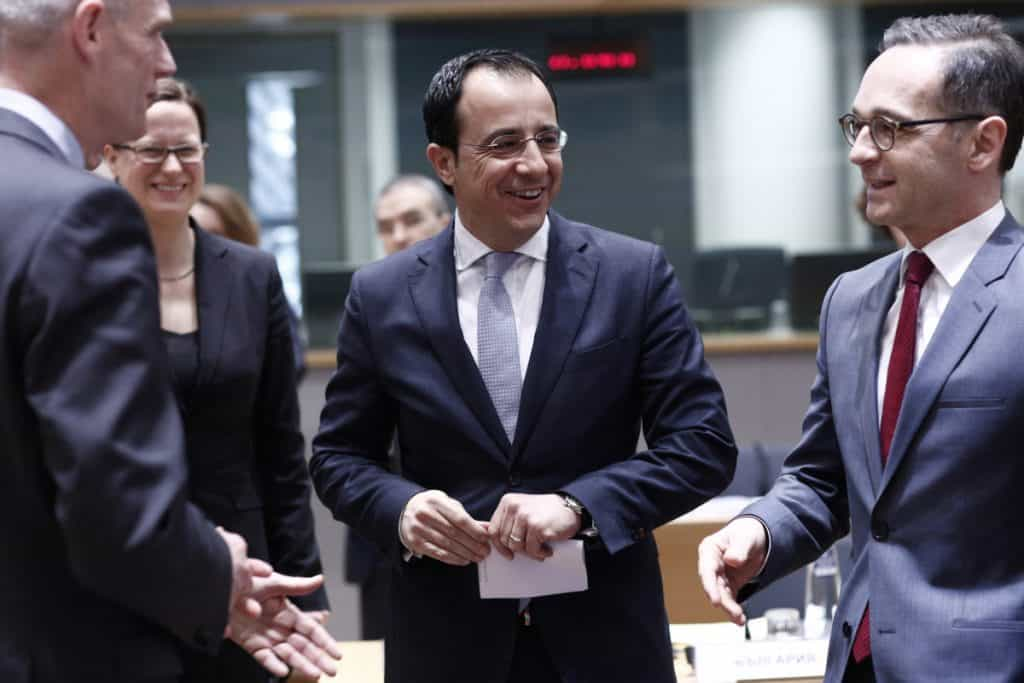 European Union Foreign Affairs Council - Nikos Christodoulides