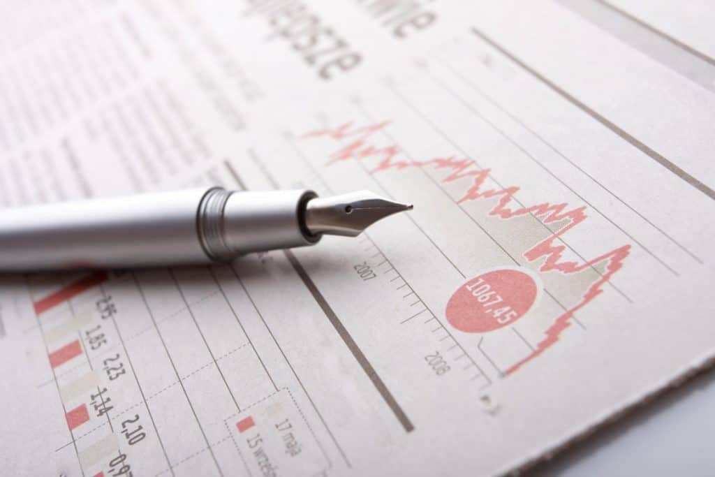 Investor Business Newspaper Chart