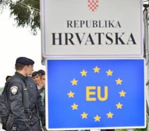 Croatia border Schengen Member