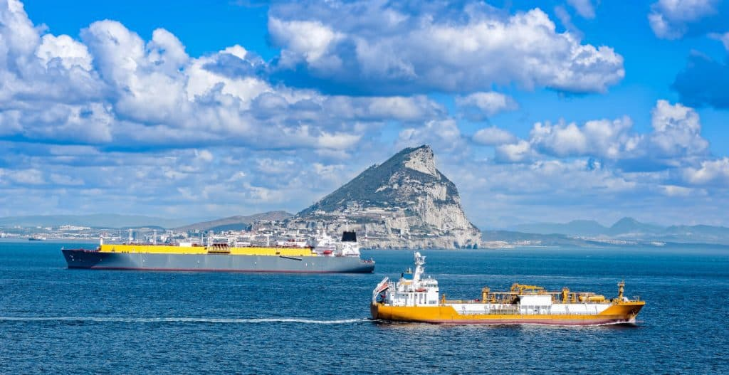 Gibraltar - Rock of Gibraltar - new Schengen Visa Border