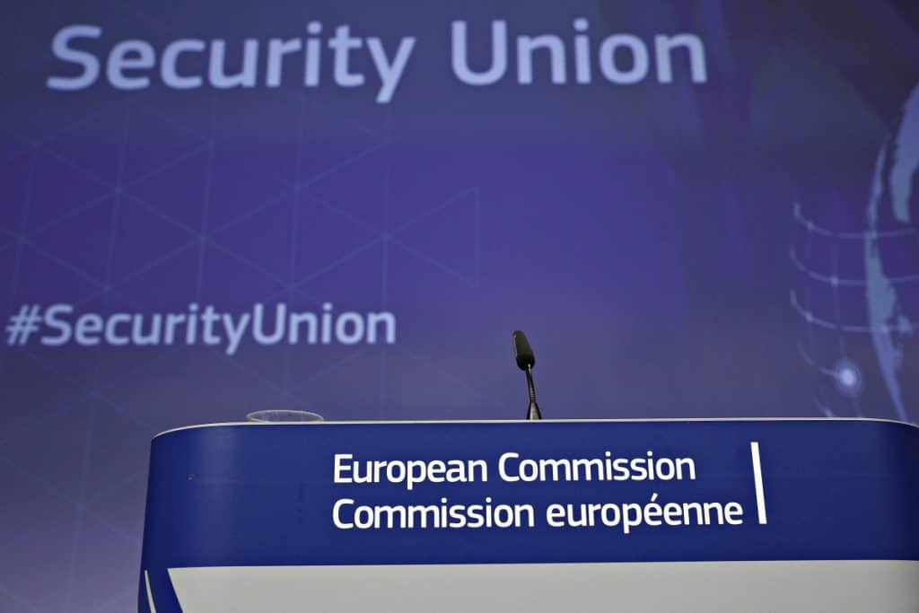 EU Security Union SIS Belgium European Union
