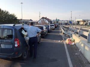 Hungary Border checkpoint