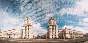 Minsk Belarus The Gates Of Minsk