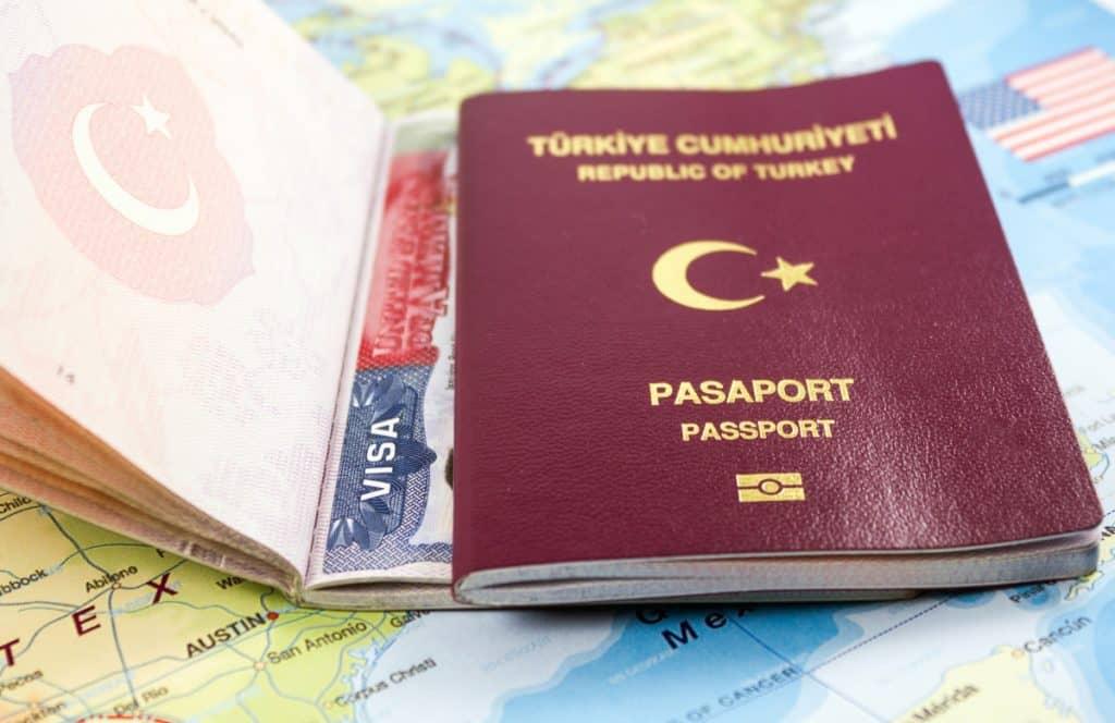 Turkish passport and Visa