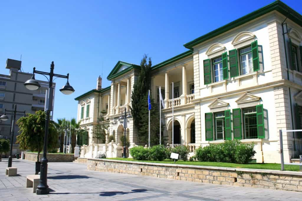 Administrative centre in Limassol Cyprus